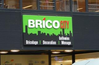 brico city li ge guillemins un pas de plus vers le bricolage de proximit. Black Bedroom Furniture Sets. Home Design Ideas